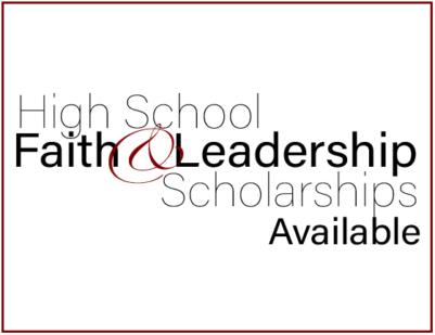 Faith and Leadership Scholarship Image